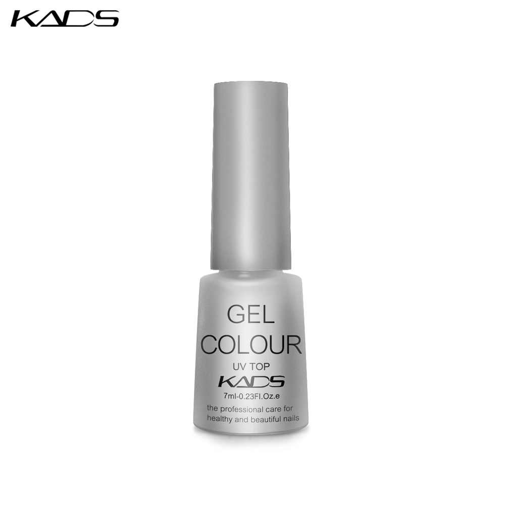 KADS UV Del Gel Del Chiodo 7ml TOP Coat top coat primer Nail design Unghie artistiche Vernice Manicure UV LED unghie top coat smalto Lacca