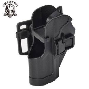 Image 5 - SINAIRSOFT CQC HK USP Belt Tactical Holster Black Paddle Right Hand or Left Hand Pistol Gun Holster For HK Compact USP
