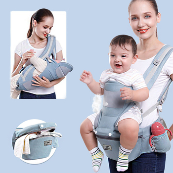Breathable Ergonomic Baby Carrier Backpack Portable Infant Baby Carrier Kangaroo Hipseat Heaps Baby Sling Carrier Wrap breathable adjustable baby carriers ergonomic toddler backpack baby wrap backpack portable backpacks baby sling