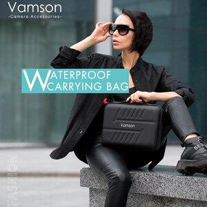 Image 5 - Vamson grand étui de transport étanche en polyuréthane pour Gopro Hero 9/8/7/6 pour DJI OSMO caméra daction pour AKASO/YI coque rigide extérieure VP808