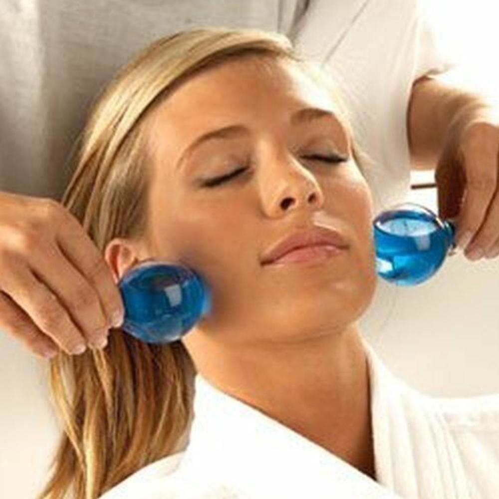 2020 Magic Cool Roller Ball Large Beauty Ice Hockey Energy Beauty Crystal Ball Beauty Water Wave Beauty Facial Massage Ball