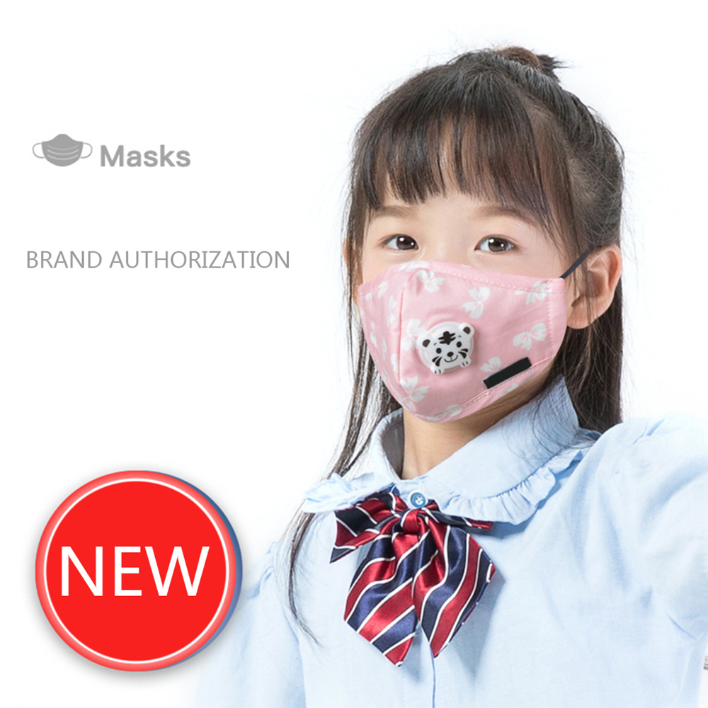 Kids Masks Mouth Mask 3-Ply Anti-virus Anti-Dust FFP3 KF94 Nonwoven Children Elastic Earloop Salon Mouth Face Masks Dropship