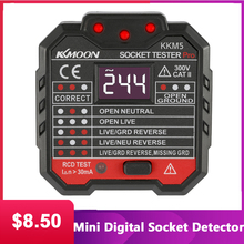 KKmoon KKM5 Mini Digitale Detektor Steckdose Verdrahtung Erkennung Wand Stecker Breaker Finder RCD Test Steckdose Tester EU/UK/US