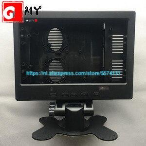 Pantalla LCD de 10,1 pulgadas 16:10, carcasa de plástico 16:9 con HDMI VGA 2AV para placa de controlador Raspberry Pi, estructura LCD