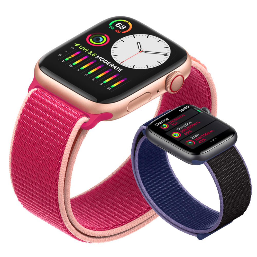 Strap For Apple Watch 5 Band 44mm 40mm Iwatch Band 42mm 38mm Breathable Nylon Sport Loop Watchband Bracelet Apple Watch 3 5 4