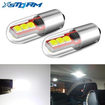 2Pcs BA9S LED BAX9S H21W BAY9S H6W T4W T11 Led Bulb Canbus Car Clearance Lights Interior Dome Reading Lamp 12V 6000K White 10pcs t11 ba9s 5050 5 smd led white light bulb car light source car 12v lamp t4w 3886x h6w 363 high quality