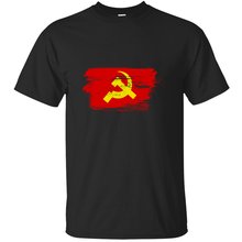 Ussr ธง scuffed HAMMER sickle ไอ(China)