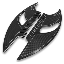 Footboards for Motorcycle Footboard Parts Avant Marchepied For Harley Touring Road King Street Glide FLH Softail Foot Rests