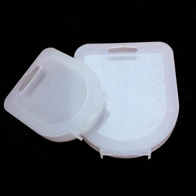 Translucent small/big 37 62mm/67 82mm Camera Lens Filter UV CPL FLD ND Filter Storage Box Bag Case camera accessories