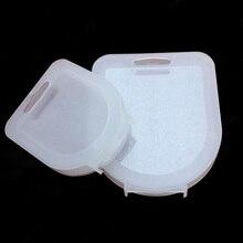 Transluzenten kleine/große 37 62mm/67 82mm Kamera Objektiv Filter UV CPL FLD ND filter Lagerung Box Tasche Fall kamera zubehör