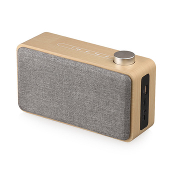 Altavoz Bluetooth de madera con Control táctil Subwoofer estéreo MP3 Altavoce compatible...