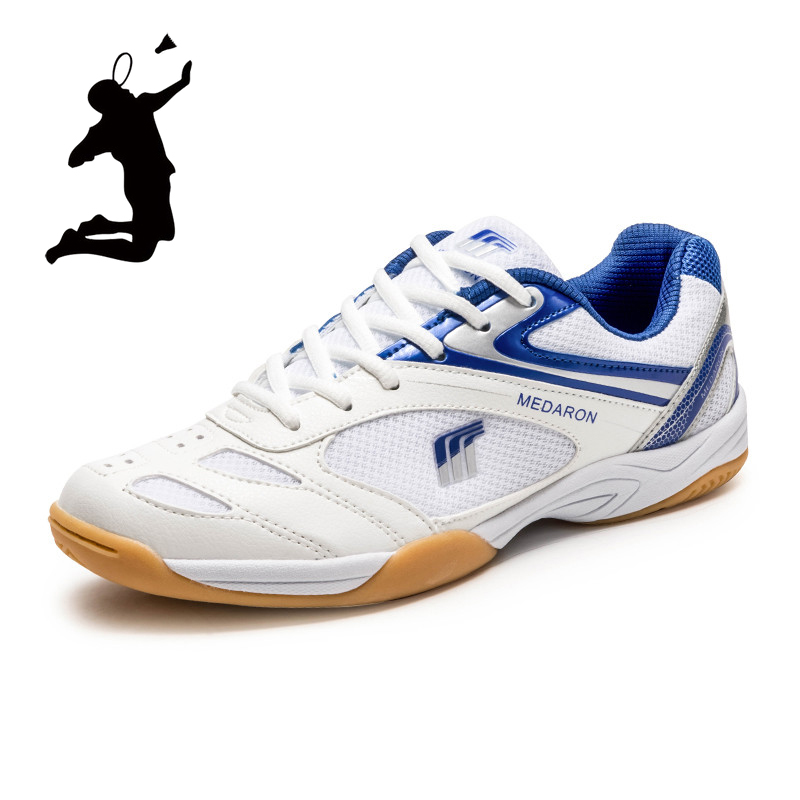 Men and Women Table Tennis Shoes Professional Kids School Pingpong Sports Shoes Non-slip Unisex Badminton Sneakers Tennis