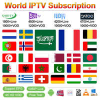IPTV Frankreich QHDTV/SUBTV/IUDTV IPTV Abonnement Android M3u IPTV Arabisch Deutschland Belgien Spanien Portugal Griechischen Schweden Italien IP TV