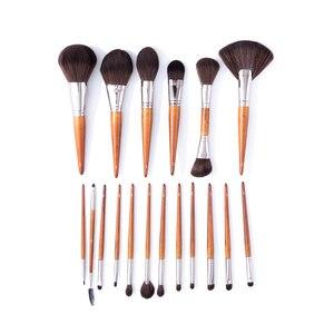 Image 5 - Bbl Pro High End Make Kabuki Poeder Borstel, Het Aanbrengen Van Losse/Compact Poeders, soft & Pluizige Gezicht Make Up Borstel Voor Mengen Blush