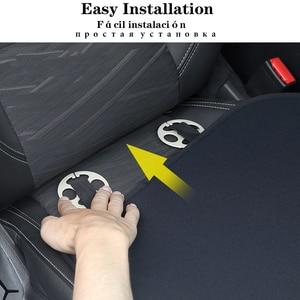 Image 5 - 1 pc carro de pelúcia quente almofada do assento capa almofada de assento tapete para hyundai i10