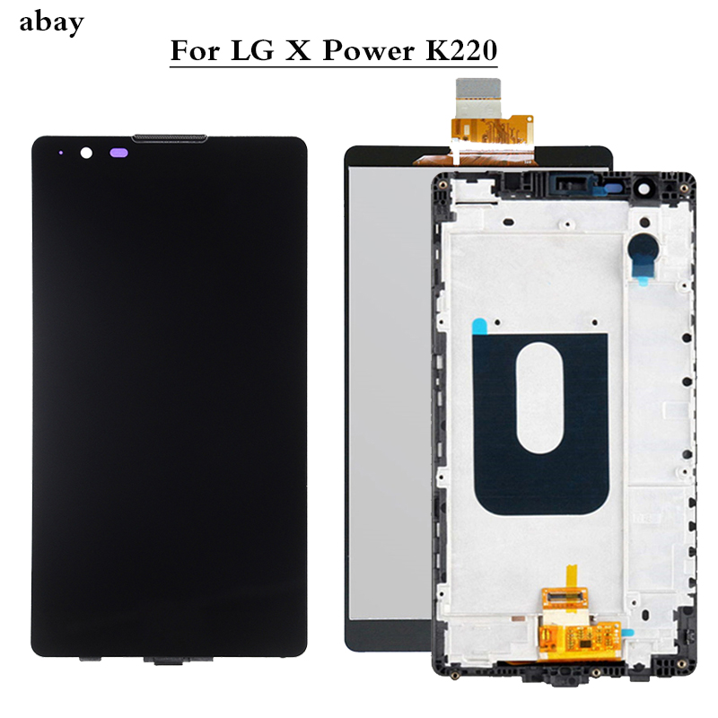 5.3 Inch NEW For LG X Power K220DS K220 LCD Display With Touch Screen Digitizer Assembly With/No Frame Replacement Parts