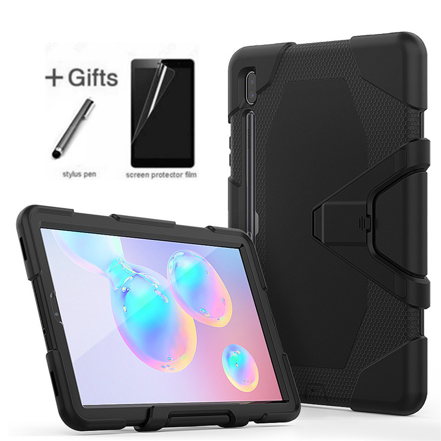 For Samsung Galaxy Tab S6 10.5 2019 T860 T865 Funda Tablet Shockproof Hard case Military Heavy Duty Silicone Rugged Stand Cover|Tablets & e-Books Case| |  - title=