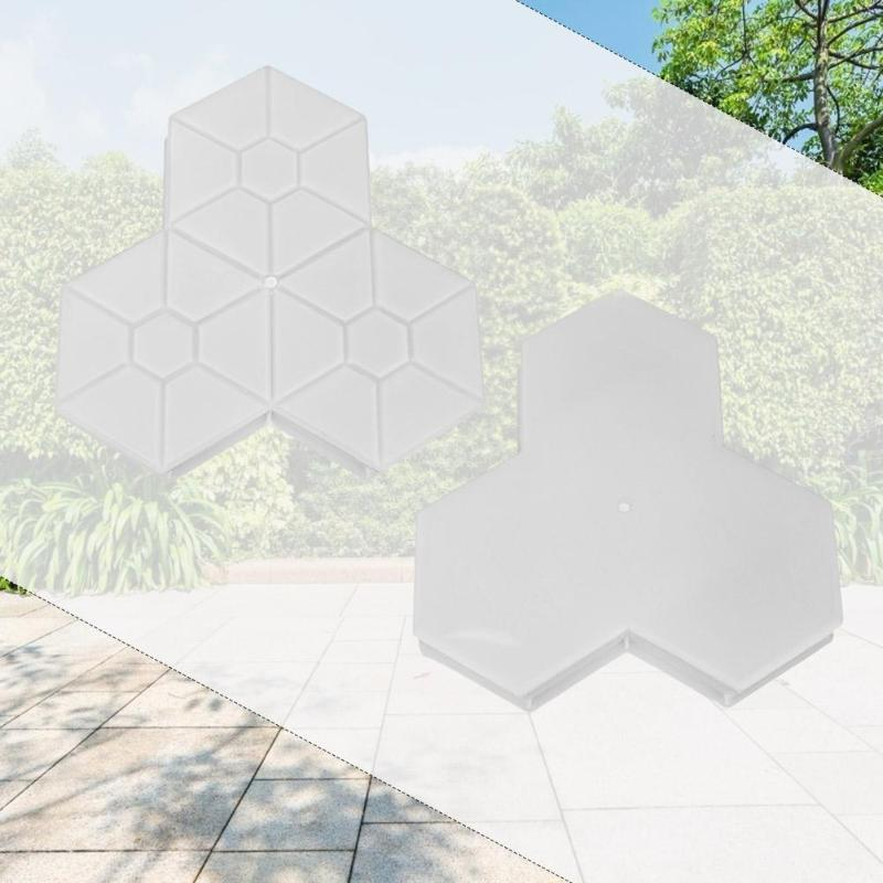 cheapest Garden Building Paving Mold  Pathmate Stone Mold Paving Concrete Stepping Pavement Paver D90406