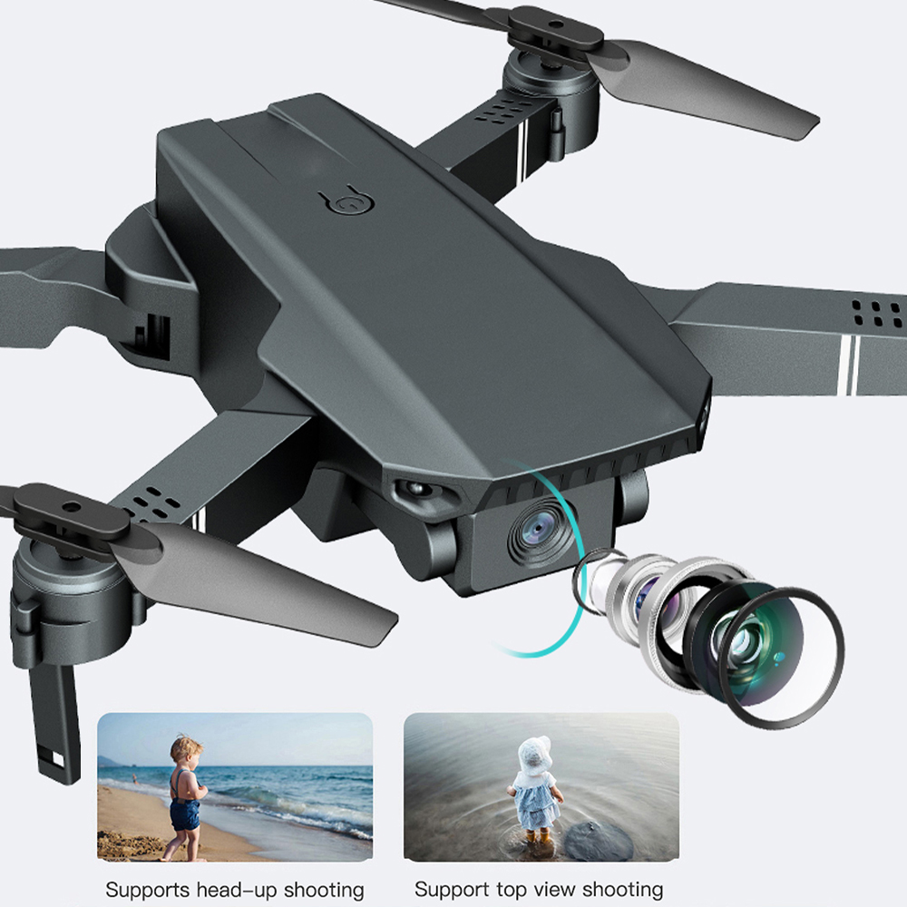 Travor camera Drone With 4K 720P HD Camera Foldable Drone Remote Control Plane Aerial quadcopter For Photography Video Shooting