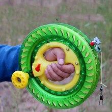 Children Kite Reel Sales ABS Material Outdoor Flying Kites Wheel for Adults eagle Kite Kite Reel Winder Fire Wheel String 200M