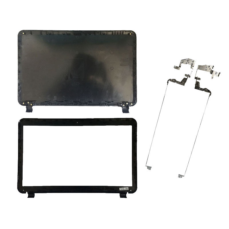 NEW Laptop Cover For HP Pavilion 15-D LCD TOP Cover/LCD Front Bezel Cover/Hinges 747113-001 32FUU00600 B Shell