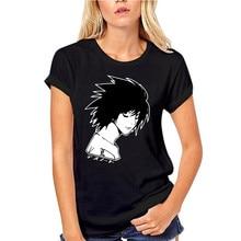 Death Note L T-Shirt, Kira Yagami Ryuk Japanese Kanji, Lawliet Anime Men Black T New Fashion Tee Shirt