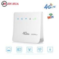 Router Wifi sbloccati da 300Mbps Router Mobile 4G LTE CPE con porta LAN Router wi-fi portatile con scheda Sim PK Router Tenda Huawei
