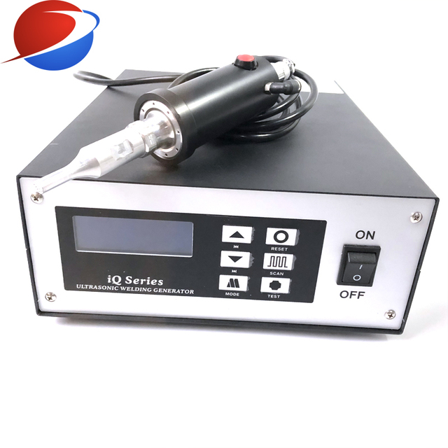 N95 Cup Mask Ear Strap Spot Welding Machine Ultrasonic Welding Equipment Transducer And Generator 35K 800W