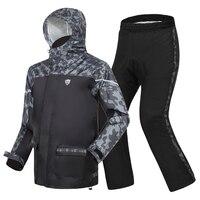 Camouflage Rain Coats Rain Pants Suit Men's Outdoor Rain Jacket Motorcycle Raincoat Black Thick Waterproof Anti Heavy Gift Ideas