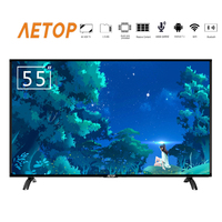 free shipping smart tv 55 inch 4k ultra hd android television led lcd tv flat screen