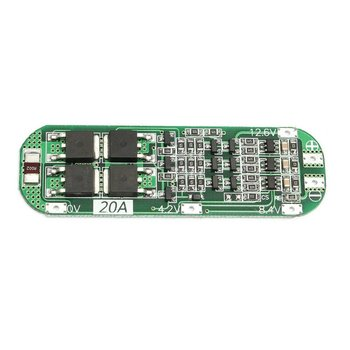 3S 20A Professional Li-ion Lithium Battery 18650 Charger PCB BMS Protection Board For Drill Motor 12.6V Lipo Cell Module 3s 10a 12v lithium battery charger protection board module for 3pcs 18650 li ion battery cell charging bms 11 1v 12 6v