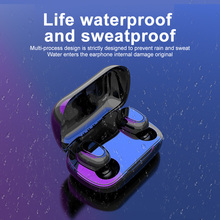 Bluetooth Oortelefoon Headset 5.0 Tws L21 Pro Stereo Draadloze Oordopjes Hoofdtelefoon Opladen Doos Holografische Geluid Android Ios IPX5