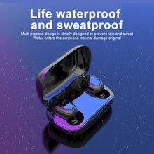 Fone de ouvido bluetooth 5.0 tws l21 pro estéreo sem fio fones caixa carregamento som holográfico android ios ipx5