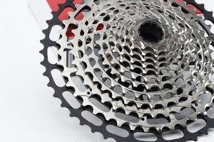 Image 4 - خفيفة متب 12 سرعة 10 50T XD ولت كاسيت في نهاية المطاف نك دراجة هوائية جبلية حرة عجلة الصلب دائم 12 s k7 ضرس 390g