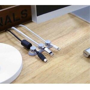 Image 3 - Tup2 Cable de datos de madera cruda magnetismo, nuevo, Original, almacenamiento para oficina y hogar, organizador de cables, herramienta de clasificación de línea