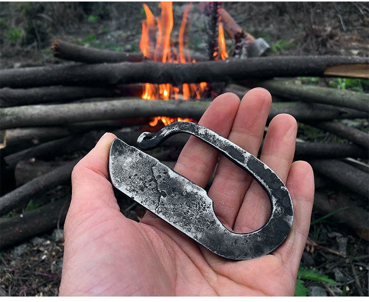 steel for flint bushcraft tool outdoor knife image