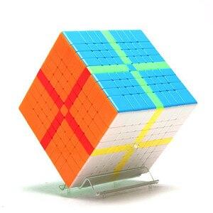 Image 2 - Meilong 9x9x9 Moyu cubo Mágico 6x6x6 7x7x7 8x8x8 velocidade cube 6x6 7x7 8x8 9x9 cubo magio puzzle MF8