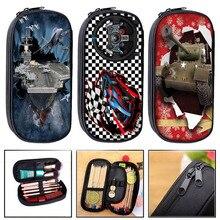 Racing Cars Cosmetic Case Pencil Bag Boys Girls Tank Aircraft Children Pencil Box Kids