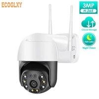 Telecamera IP 1080P PTZ Dome telecamera di sicurezza Wifi Wireless Zoom digitale 4x colore notte citofono Audio a 2 vie sorveglianza esterna