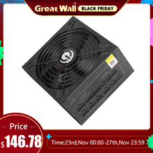 Great Wall Power Supply 850W Source 80 plus Gold ATX 12V Gaming PSU Computer Power Supply 140mm Fan Mute PC Power Supply Unit