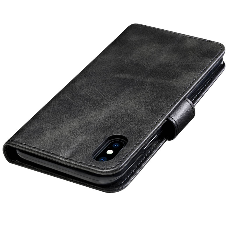 Retro Leather Flip Case For Huawei Y538 Case Wallet Stand Cover For Huawei Ascend Y560 Fundas Business Coque For Huawei P8 Lite - 2