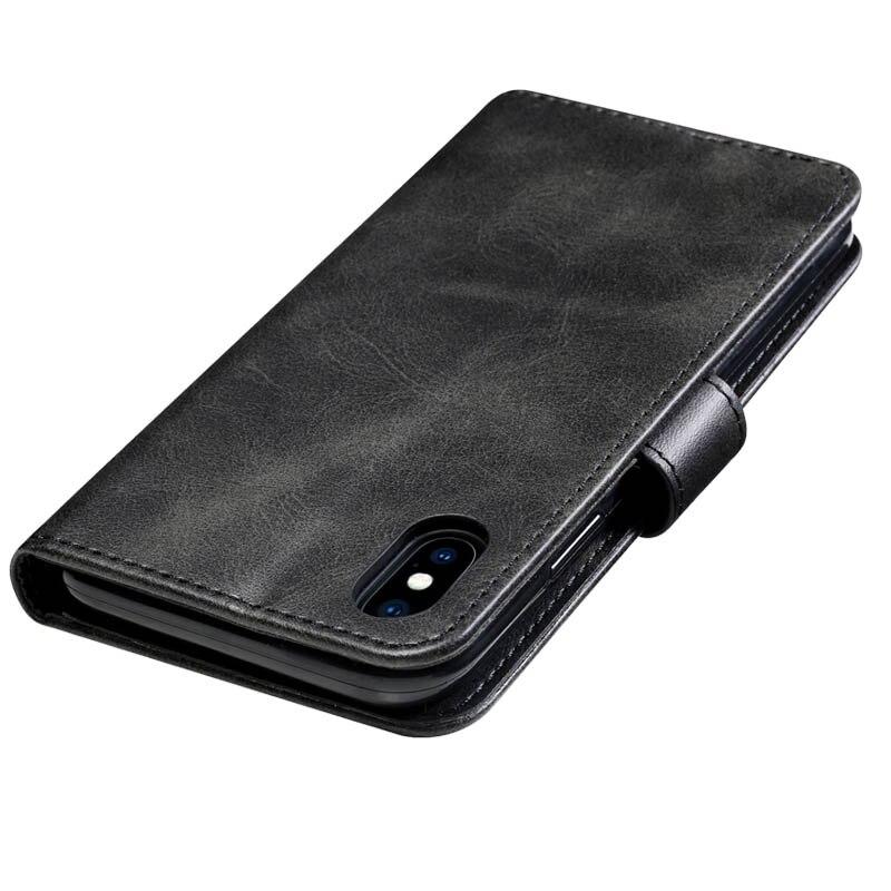 Retro Lederen Flip Case Voor Huawei Y538 Case Wallet Stand Cover Voor Huawei Ascend Y560 Fundas Business Coque Voor Huawei p8 Lite - 2