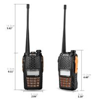 baofeng uv Baofeng UV-6R מכשיר קשר 400-470MHz Dual Band שתי דרך רדיו משדר קיט (3)
