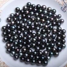 Серьги для женщин жемчужные круглый Форма свободные шарики самодельные