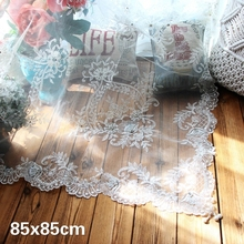 European Lace Embroidery Handmade Beaded Luxury Tablecloth Table Flag Pad Kitchen Restaurant Placemat Decoration Cloth Tapete