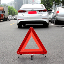 Sign Triangle Driving-Safety Reflective Car Breakdown-Warning Emergency Vehicle Luminous