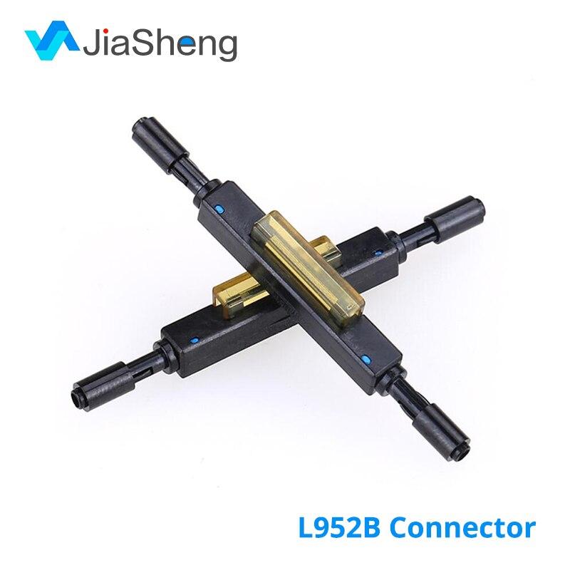 10pcs/lot Free Shipping L925B Fiber Optic Quick Connector Optical Fiber Mechanical Splice For Drop Cable