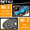 1:43 Electric Track Railway Toys Slot Car Set Autorama Circuit Voiture Double Remote Control Racing Track For Boy Children Gift 1