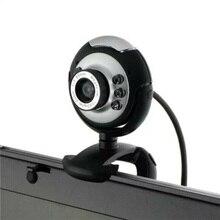1 шт. webcome 1 шт. 1x50 Мп Высокое разрешение 6 светодиодный с USB поворотом для ПК