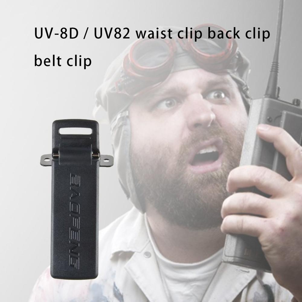 Baofeng Radios UV-5R Belt Clip For BAOFENG UV-5R UV-5RA UV-5RB UV-5RC TYT TH-F8 Ham Radio Walkie Talkie Accessories